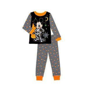 Mickey Mouse Halloween Baby Toddler Boy Long Sleev